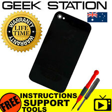 Battery cover for iPhone 4s a1387 back rear glass housing black