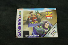 Toy Story Racer (BOOKLET ONLY) (EXTREMELY RARE) GAMEBOY ADVANCE