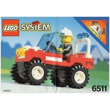 LEGO SET 6511 - RESCUE RUNABOUT (TOWN - FIRE) COMPLETE WITH MINIFIGURE