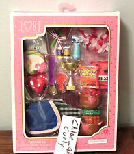"Lori Doll SADDLE UP Horse Food Feed Blankets trophy Accessories 6"" NEW!"