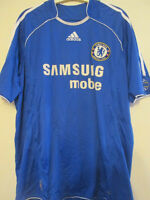 Chelsea 2006-2007 Home Football Shirt Size Large jersey /35047