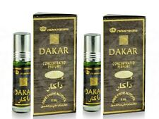 2 Bottles Dakar by Al Rehab  6ml Best Seller Perfume/oil/Attar Spicy woody aroma