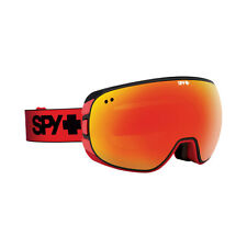 Spy Optic 313073170850 Doom Snow Ski Goggles Red Fade Bronze Red Spectra