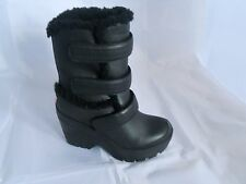 Hunter DA DONNA ORIGINALE SHEARLING Stivali da neve Zeppa Misura UK -7, EUR -40 ne