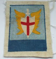 far east land forces  printed  cloth formation sign  unit  patch