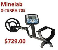Minelab X-Terra 705 Metal Detector Tops In All-Purpose Detecting & FREE Shipping