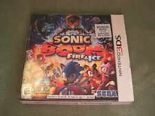 Sonic Boom: Fire & Ice - Launch Edition Nintendo 3DS 2016 Includes Bonus DVD NEW