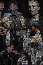 Eminem Rap God Collage Poster