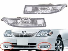 Corolla 2000-2002 Fog Lights - Driving Lamps Pair Quality SUPER Toyota