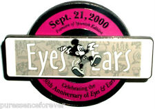 Disney Pin: WDW Cast - Eyes & Ears 30th Anniversary: 1st Spanish Issue (LE 3000)