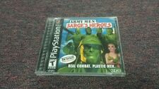 Army Men: Sarge's Heroes complete  (Sony PlayStation 1, 2000)