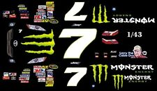 #7 Robby Gordon  2010 Toyota 1/43rd Scale Slot Car Decals