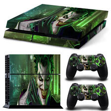 Sony PS4 Playstation 4 Console Skin Sticker New Joker + 2 Controllers