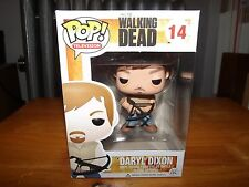 "POP! #14 THE WALKING DEAD, DARYL DIXON VINYL 4"" FIGURE , FUNKO NIB, 2012"