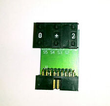 Omron A7D 2-gang Counter with   +/-    on PCB  w/ 18pin breakout - A7D Counter