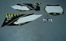 KTM SX/SXF125-450 2010-2012 Arma Energy white background set 70436BG
