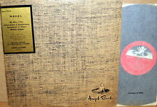 ANGEL UK RED Ravel CLUYTENS Valses Nobles/Menuet Antique PASCAL QUARTET 35173