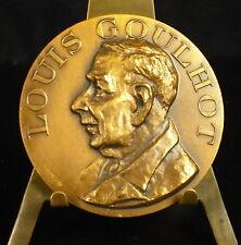 Médaille Louis Goulhot par Pradeiles 59g 50mm Medal