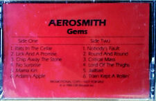 AEROSMITH - GEMS - COLUMBIA PROMO - CASSETTE TAPE - STILL SEALED