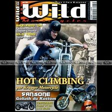 WILD MOTORCYCLES N°31 HARLEY ROAD KING CONFEDERATE F125 HELLCAT & TJ WRAITH 2004