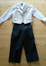 Special occasion or wedding outfit for boy 3 years - 4 pieces - page boy