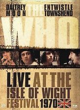 Who: Live at the Isle of Wight Festival 1970 DVD Eagle Vision - Original Lineup