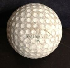 VINTAGE ANTIQUE SPALDING Dot #1 GOLF BALL GOOD CONDITION FAST SHIPPING