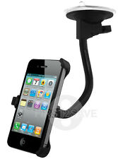 NEW IN CAR WINDSCREEN HOLDER SUCTION MOUNT CRADLE FOR APPLE IPHONE 4 4G UK
