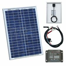20W solar panel kit with controller for camper / caravan / boat 20 watt charger