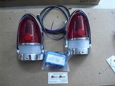 1955 CHEVROLET TAILLIGHT HOUSING ASSEMBLY, COMPLETE BEL AIR, SEDAN, WAGON