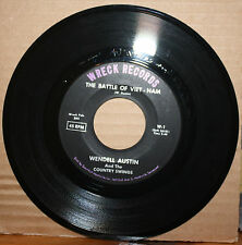 "WENDELL AUSTIN & SWINGS Battle Of Viet-Nam ODE TO ""50"" BUICK Hot Rod 45 WRECK 1"