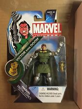 "Marvel Universe 3 3/4"" 3.75"" Figure VICTOR VON DOOM Sealed in Package Container"
