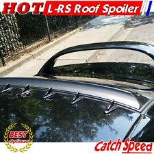 Unpainted LRS Type Rear Roof Spoiler Wing For Honda Civic 2006- 2011 2D Coupe ♘