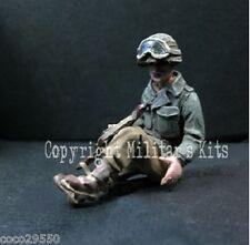 1/43 Figurine MK35 M43-033 Soldat US Passager arrière de Jeep à peindre