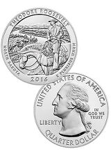2016 25c 5 oz. Silver ATB America the Beautiful - Theodore Roosevelt NP SKU42421