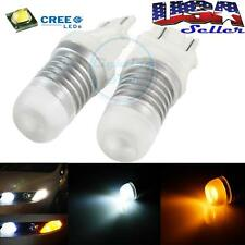 Switchback Dual Color 3157 3357A 3457A LED Bulbs For Front Turn Signal Lights