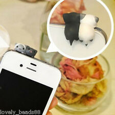 1Pcs Creative Cat Ear Cap Anti Dust Plug Cover Accessories For Cell Phone 3.5mm