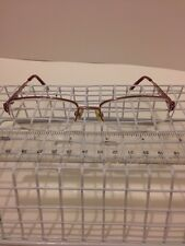 dicaprio ITALY DC 28 Womens Glasses Eyeglasses Frames PINK Wire