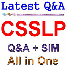 ISC2 Certified Secure Software Lifecycle Professional CSSLP Exam Q&A PDF+SIM