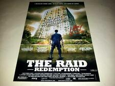"THE RAID : REDEMPTION PP SIGNED 12""X8"" POSTER IKO UWAIS"