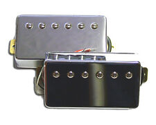 Dragonfire Guitar Screamers Humbucker Pickup Matched Set, Chrome!