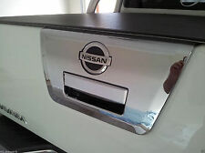 NISSAN FRONTIER NAVARA D40 05+ UTE CHROME TAILGATE HANDLE SURROUND COVER TRIM 06