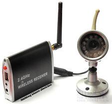 Funk-Überwachungsset  Empfänger m. USB + Funkkamera Funk Videoüberwachung