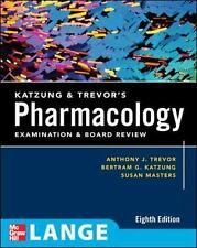 Katzung & Trevor's Pharmacology Examination and Board Review: Eighth Edition