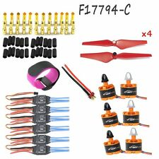 Quad-Rotor 920KV Motor Simonk Firmware 30A ESC 9443 Self-locking Propeller