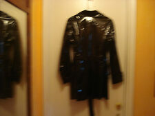 Black jacket w/patent leather look, Lrg.