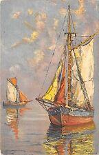 B28512 ship bateaux painting sailing vessel