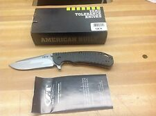 Zero Tolerance 0560CBCF Knife Hinderer Limited Edition; USA MADE