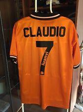 Camiseta Futbol Valencia Cf Claudio Piojo Lopez Vintage Luanvi Lazio Argentina