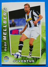 FOOTBALL CARDS PANINI REAL ACTION 2008-09 - N. 35 - MELLBERG - JUVENTUS - new